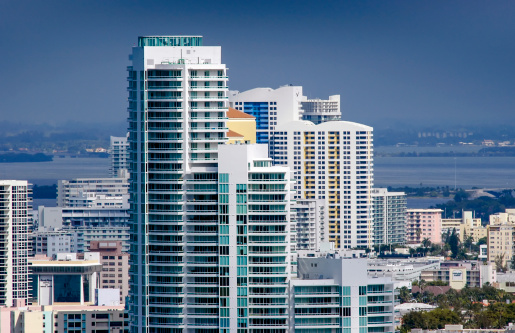 Miami Beach「Aerial waterfront condominiums Miami Beach」:スマホ壁紙(17)