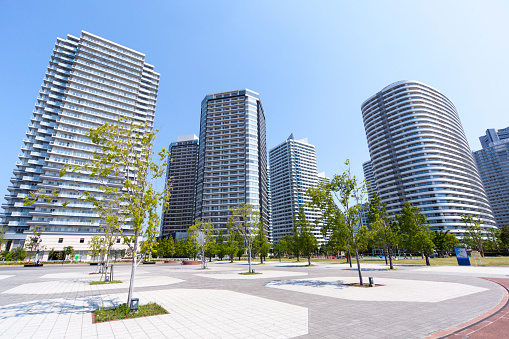 Town Square「High Rise Apartment in Minatomirai District, Yokohama」:スマホ壁紙(13)