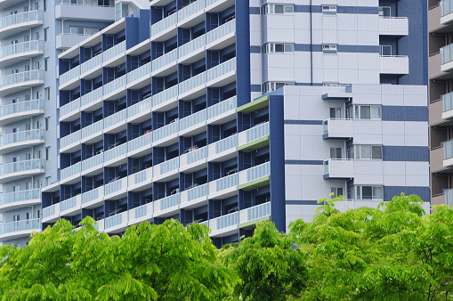 部分「High Rise Apartment Buildings」:スマホ壁紙(6)