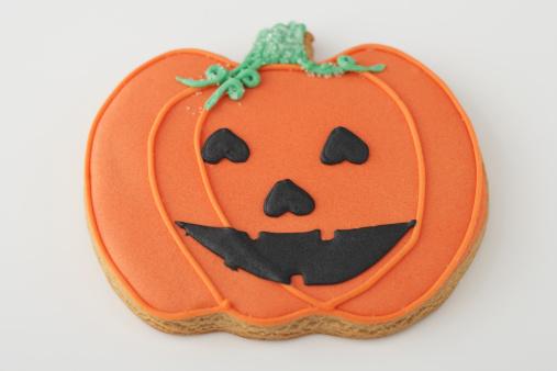 ハロウィン「Jack-o'-lantern cookie」:スマホ壁紙(5)