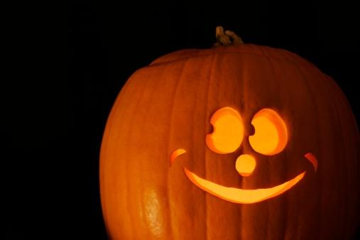 ハロウィン「Jack-o'-lantern」:スマホ壁紙(16)
