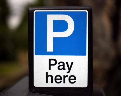 Paying「Parking Sign 1」:スマホ壁紙(5)