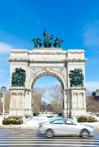 Sailor「Soldiers and Sailors Arch, Grand Army Plaza, Brooklyn, New York City, USA」:スマホ壁紙(2)