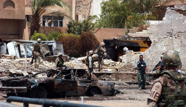 Baghdad「Car Bomb Kill Twelve At Jordanian Embassy」:写真・画像(17)[壁紙.com]
