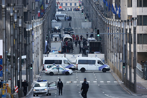 Belgium「Brussels Airport And Metro Rocked By Explosions」:写真・画像(17)[壁紙.com]