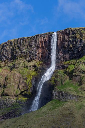 Basalt「Bjarnarfoss waterfall, Snafellsnes Peninsula, Iceland」:スマホ壁紙(0)