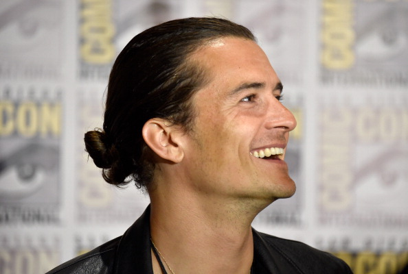 オーランド・ブルーム「'The Hobbit: The Battle Of The Five Armies' Press Line - Comic-Con International 2014」:写真・画像(3)[壁紙.com]