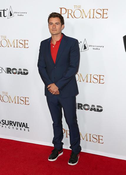オーランド・ブルーム「Premiere Of Open Road Films' 'The Promise' - Arrivals」:写真・画像(16)[壁紙.com]