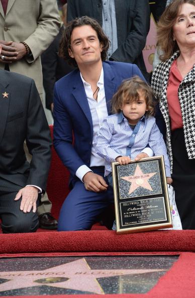 Flynn Bloom「Orlando Bloom Honored On The Hollywood Walk Of Fame」:写真・画像(5)[壁紙.com]