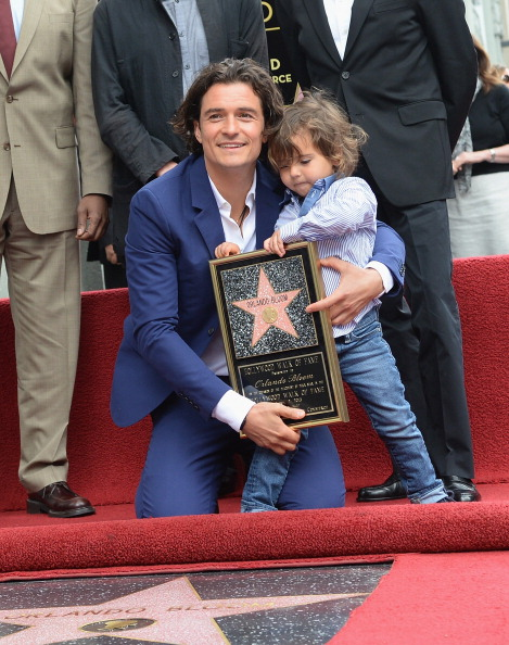 Flynn Bloom「Orlando Bloom Honored On The Hollywood Walk Of Fame」:写真・画像(4)[壁紙.com]