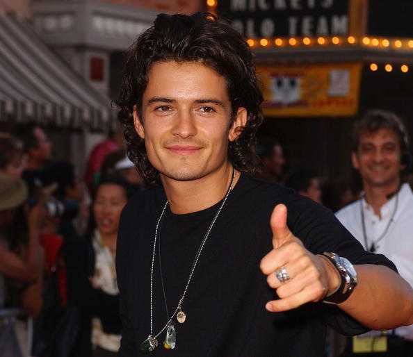 オーランド・ブルーム「Orlando Bloom at 'Pirates of the Caribbean' world premiere」:写真・画像(7)[壁紙.com]