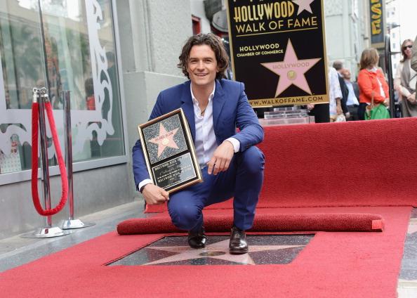 オーランド・ブルーム「Orlando Bloom Honored On The Hollywood Walk Of Fame」:写真・画像(15)[壁紙.com]