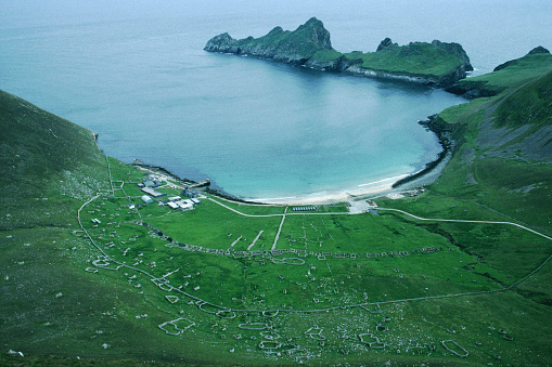 Hirta「Village Bay, St. Kilda, Scotland」:スマホ壁紙(8)
