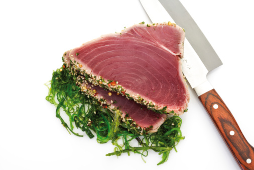 Algae「Tuna steaks, elevated view」:スマホ壁紙(11)