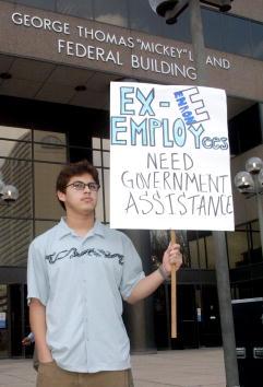 James Nielsen「Enron Employees Heading to Washington」:写真・画像(2)[壁紙.com]
