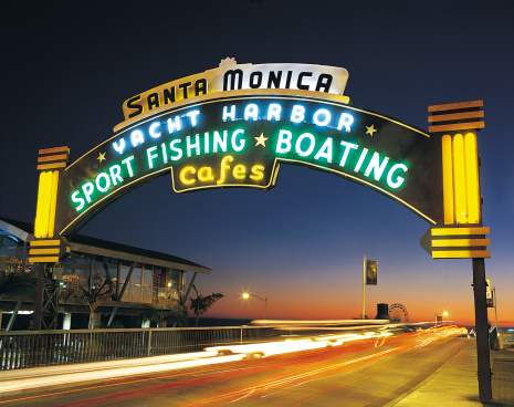 Santa Monica「Santa Monica Harbour, California, USA」:スマホ壁紙(9)