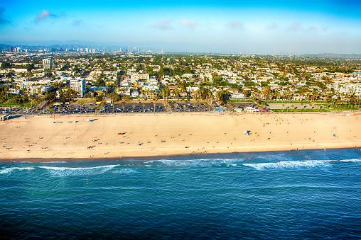 Santa Monica「Santa Monica Beach Aerial」:スマホ壁紙(14)