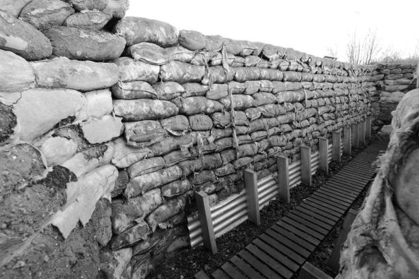 Yorkshire Trench and Dug Out WWI Trenches in Ypres Belgium:スマホ壁紙(壁紙.com)