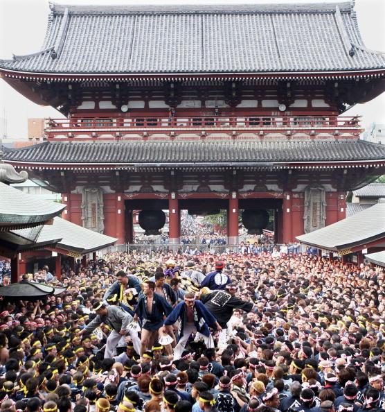 Portability「The Annual Sanja Festival Is Celebrated At Tokyo's Sensoji Temple」:写真・画像(6)[壁紙.com]