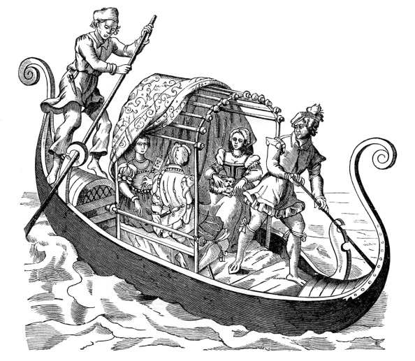 Passenger Craft「Venetian Gondola」:写真・画像(8)[壁紙.com]