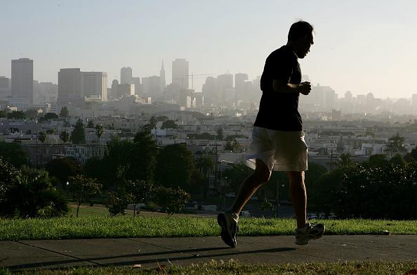 1人「San Francisco Named Best City For Jogging」:写真・画像(12)[壁紙.com]