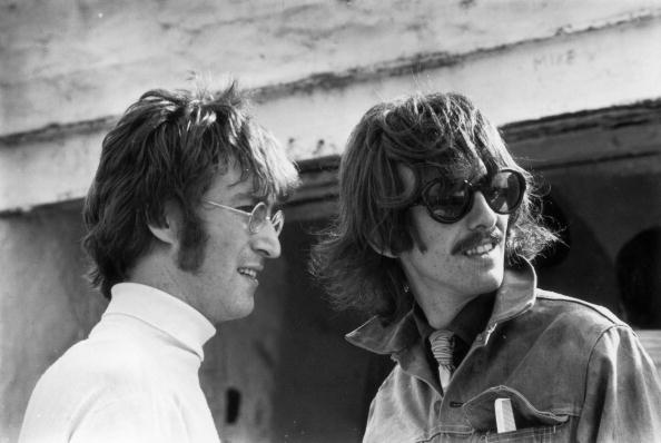 George Harrison「John And George」:写真・画像(14)[壁紙.com]