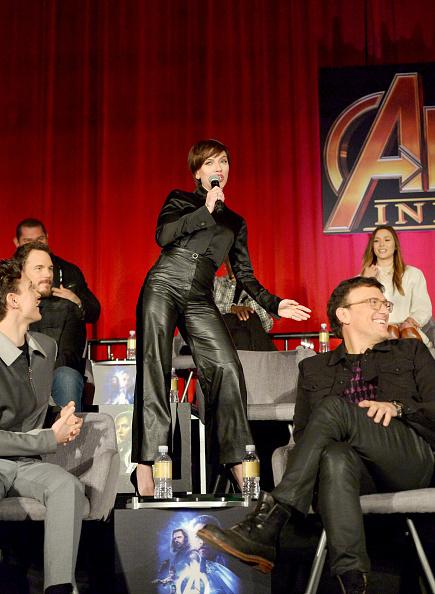 俳優「'Avengers: Infinity War' Global Press Conference」:写真・画像(1)[壁紙.com]