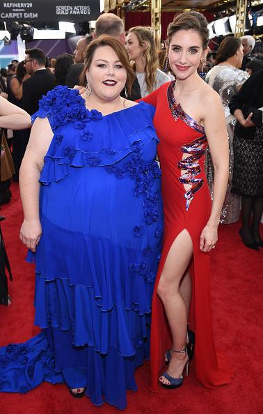 Alison Brie「24th Annual Screen Actors Guild Awards - Red Carpet」:写真・画像(2)[壁紙.com]