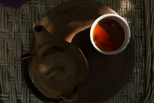 盆「Tea in a teapot」:スマホ壁紙(17)