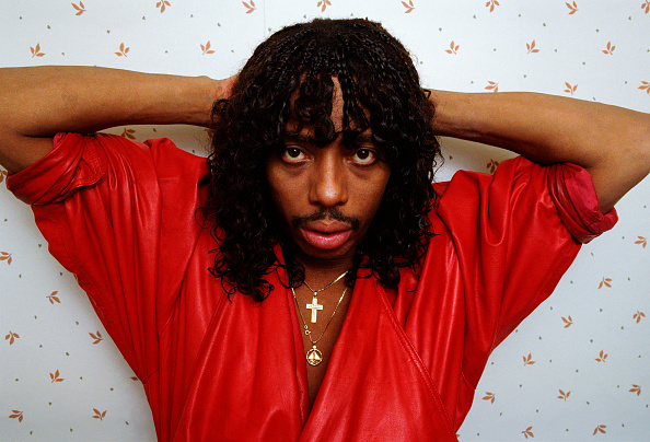 Singer「Rick James Portrait Session」:写真・画像(3)[壁紙.com]