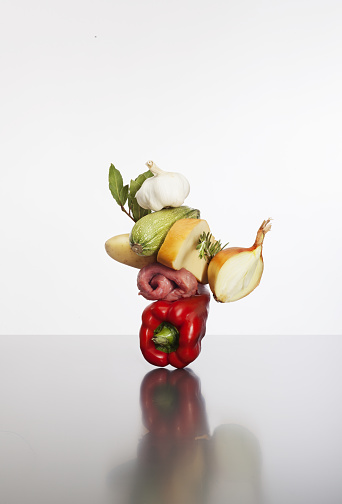 Celery「Food composition, Italian cuisine, levitation」:スマホ壁紙(5)