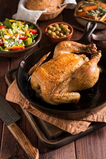 Skillet - Cooking Pan「Cast Iron Chicken」:スマホ壁紙(9)