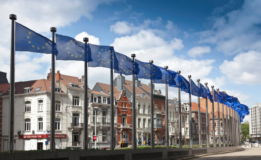 Belgium「Bruxelles, The European Parliament.」:スマホ壁紙(7)