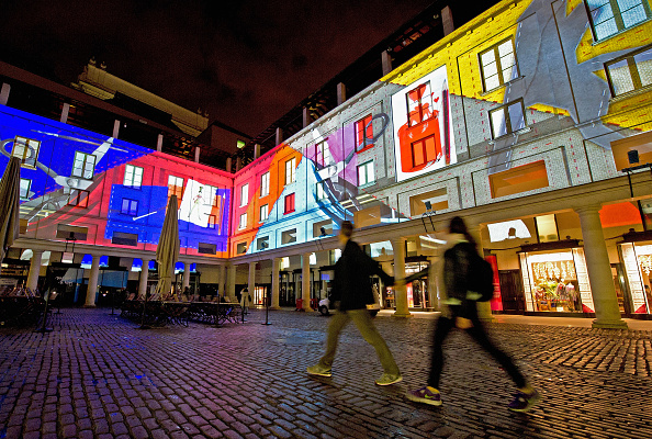 Eamonn M「The Royal Opera House Transforms Into A spectacular Piece Of Visual Art By 59 Productions To Mark The Opening Of Deloitte Ignite Festival」:写真・画像(4)[壁紙.com]