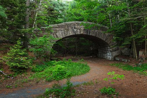 Arch Bridge「Old Stone Bridge, Acadia National Park」:スマホ壁紙(13)