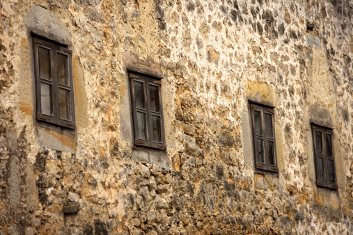 Santillana Del Mar「Old stone buildings of town.」:スマホ壁紙(8)