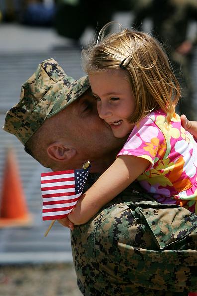 Sailor「Marines Return To Camp Pendleton From Iraq」:写真・画像(0)[壁紙.com]