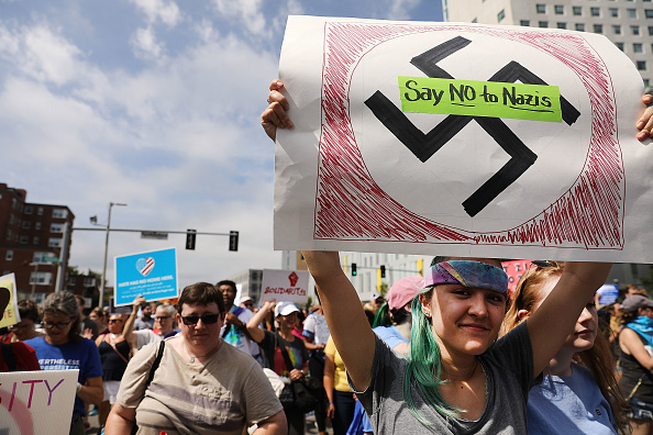 Furious「Solidarity With Charlottesville Rallies Are Held Across The Country, In Wake Of Death After Alt Right Rally Last Week」:写真・画像(4)[壁紙.com]