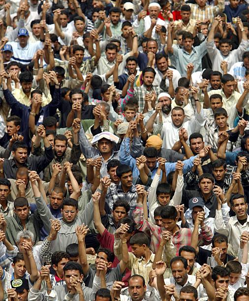 Thousands Attend Friday Prayer In Sadr City:ニュース(壁紙.com)