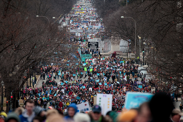 Washington DC「Annual March For Life Held In Washington DC」:写真・画像(19)[壁紙.com]