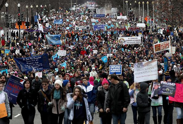 Washington DC「Annual March For Life Held In Washington DC」:写真・画像(0)[壁紙.com]