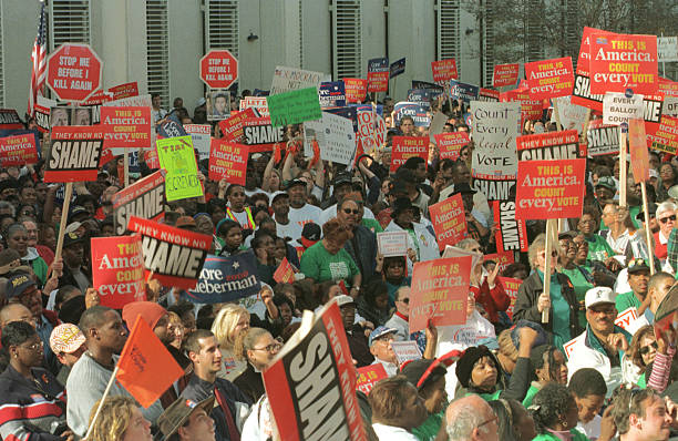 """Fairness in Democracy"" Rally in Tallahassee:ニュース(壁紙.com)"