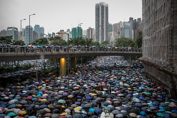 Protest「Unrest In Hong Kong During Anti-Government Protests」:写真・画像(5)[壁紙.com]