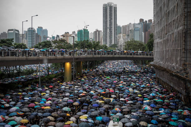 Unrest In Hong Kong During Anti-Government Protests:ニュース(壁紙.com)