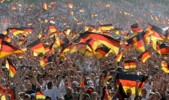 German Culture「Fans Enjoy Public Viewing Of World Cup Games」:写真・画像(12)[壁紙.com]