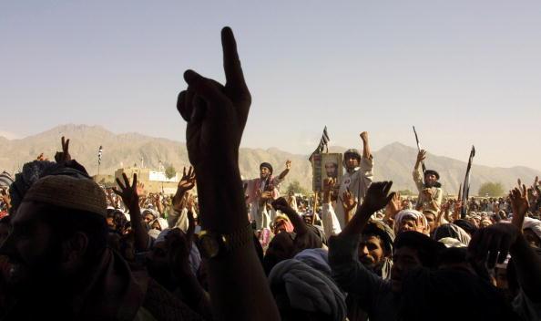 Taliban「Taliban Supporters Rally in Pakistan」:写真・画像(4)[壁紙.com]