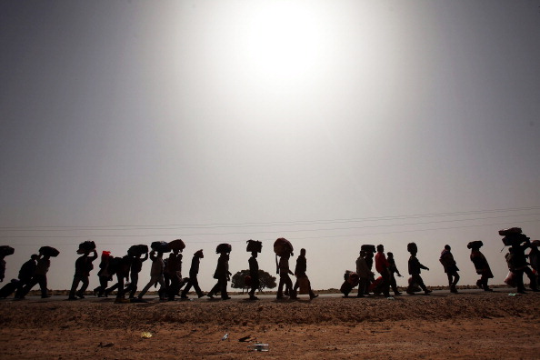 Refugee「Foreign Workers And Refugees Flee As Violence Continues In Libya」:写真・画像(7)[壁紙.com]