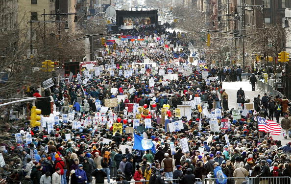 Abundance「U.S. Protesters Gather For Peace In New York」:写真・画像(6)[壁紙.com]