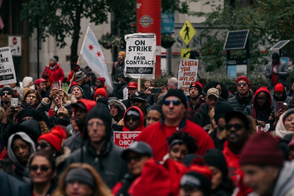 Instructor「Chicago Teachers Hold Major Rally In Downtown Chicago As Strike Continues」:写真・画像(14)[壁紙.com]