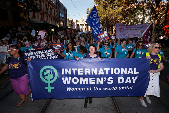 オーストラリア「Thousands Of Australians March For Change On International Women's Day」:写真・画像(12)[壁紙.com]